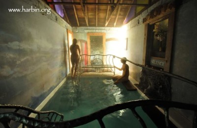 The hot pool at Harbin is fed directly from natural hot springs. (Photo by Luiza Leite, www.luizaleite.com)